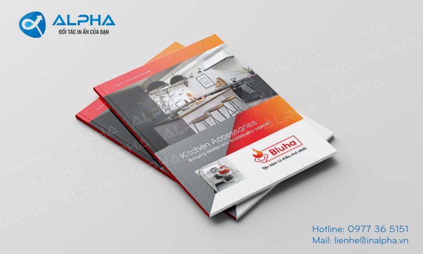 Thiết kế - In Catalogue Bluha