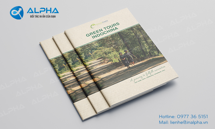 Thiết kế - In Catalogue Indochina