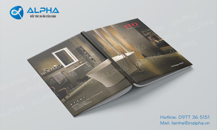 Thiết kê in ấn Catalogue ITO