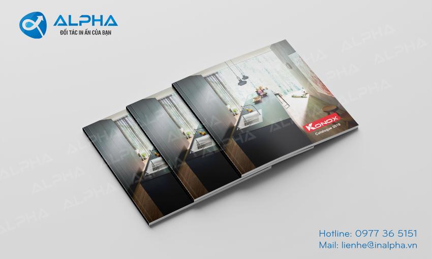 Thiết kế - In Catalogue Konox