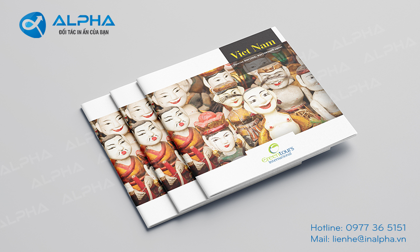 Thiết kế - In Catalogue du lịch việt nam