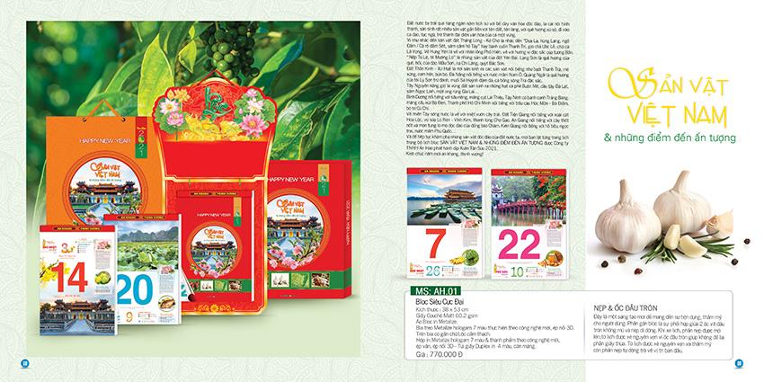 Mẫu thiết kế lịch Block 365 ngày Hot nhất thị trường