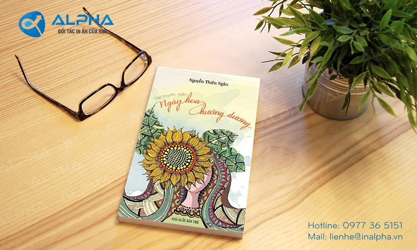 Mẫu thiết kế bìa sách hoa hướng dương