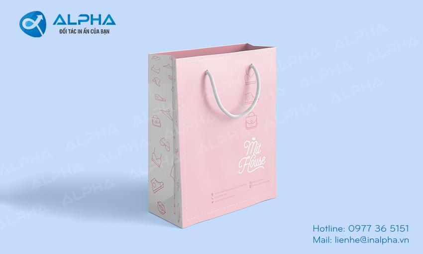 Mẫu thiết kế túi mit house