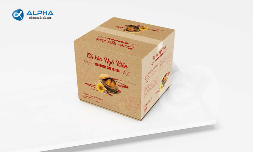 Mẫu thiết kế hộp cá kho