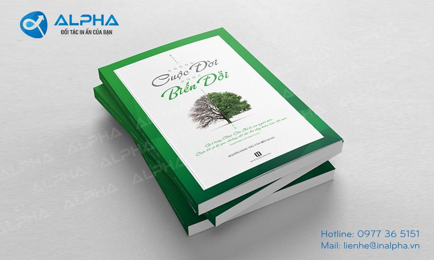 Mẫu thiết kế Bìa sách cuộc đời Biến đổi