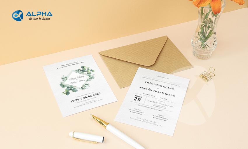 Mẫu thiết kế Thiệp cưới 05
