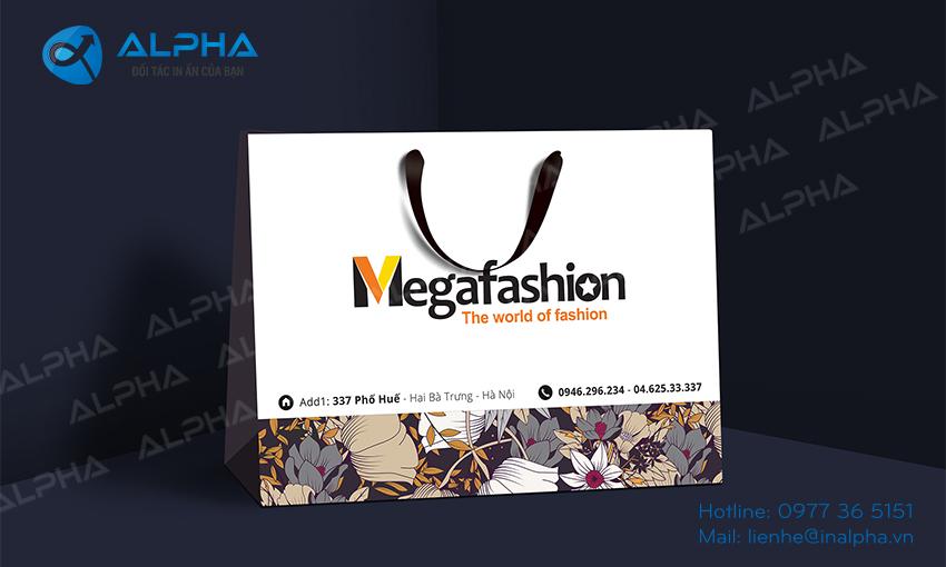 Mẫu thiết kế túi Mega Fashion