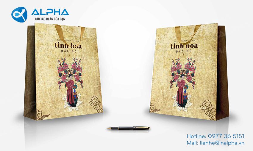 Mẫu thiết kế túi Tinh hoa Bắc Bộ